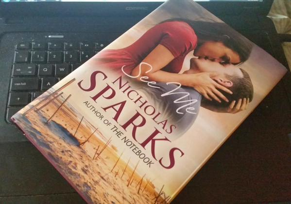 See Me by Nicholas Sparks is out TODAY – Happy Publication Day!