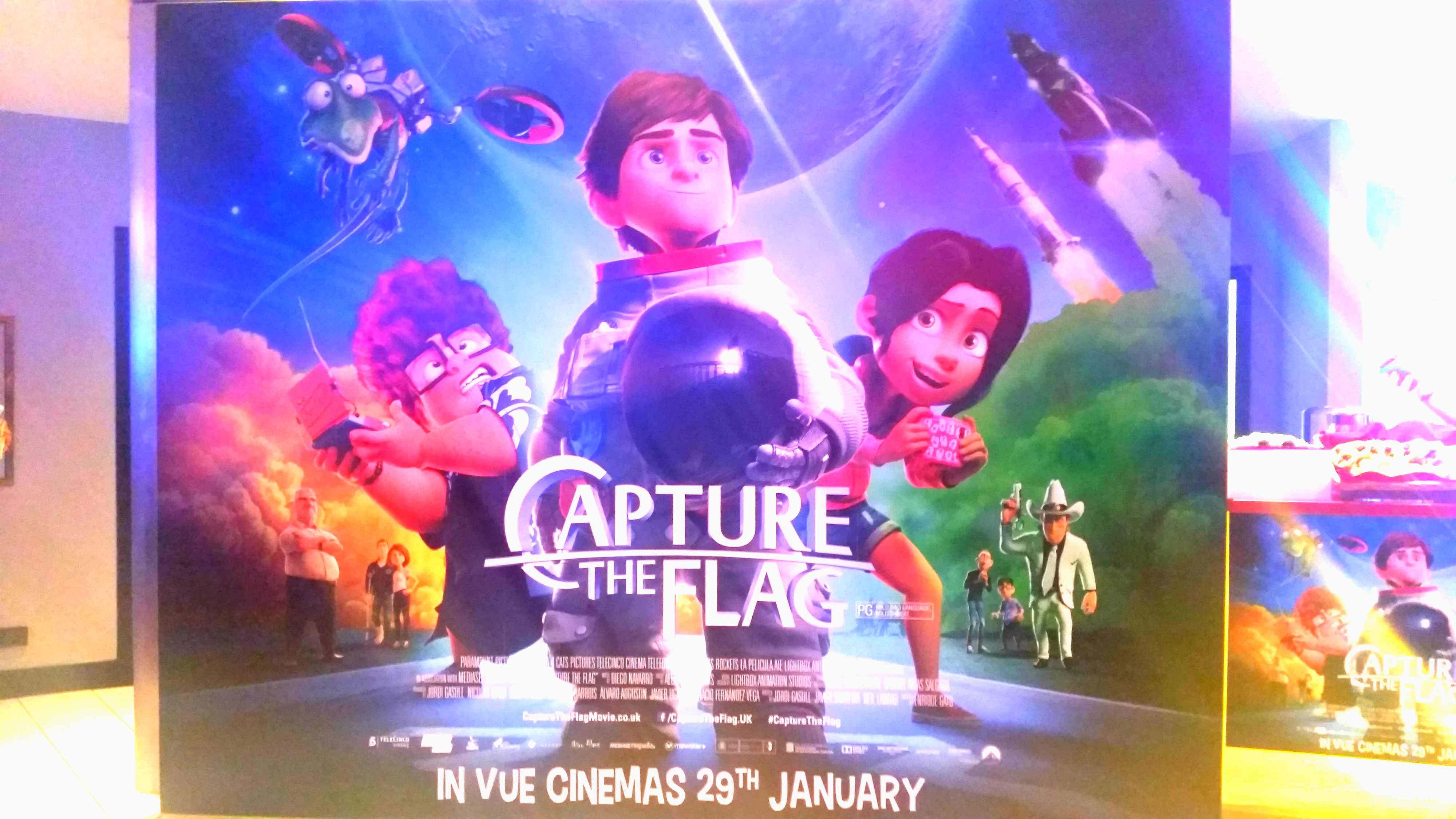 Capture The Flag Movie -Review – Out Now in the UK