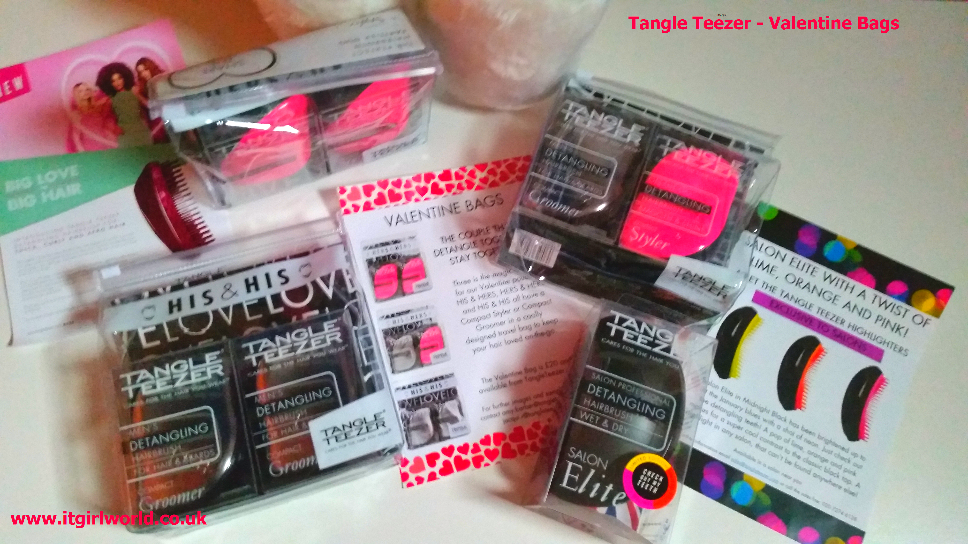 Get Loved Up with the New Tangle Teezer Valentine Bag!