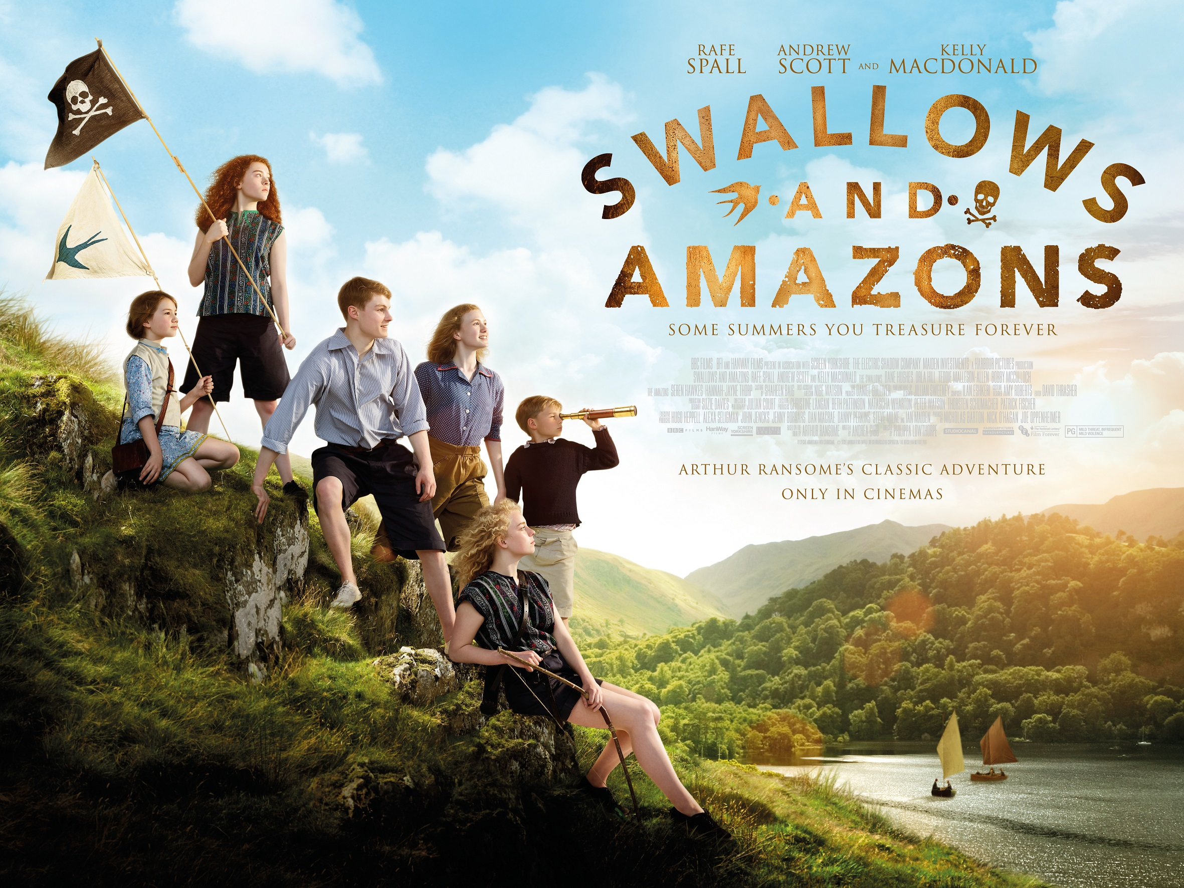 Swallows and Amazons Film Review – In UK Cinemas Friday 19th August 2016