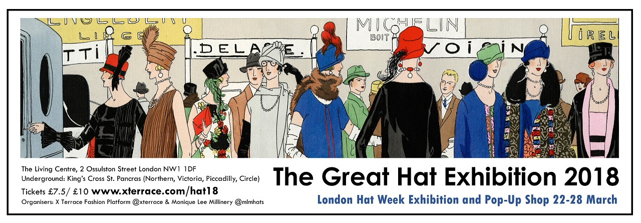 The Great Hat Exhibition Opens in London – 22nd – 28th March 2018
